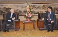Sun Yunfei találkozik Kardeván Endre magyar mezőgazdasági miniszterhelyettessel